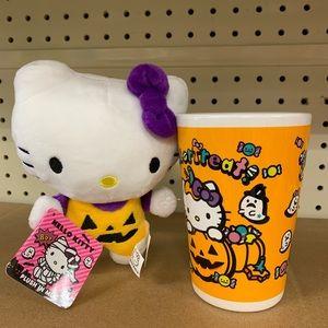 Hello Kitty Halloween Plush & Mug